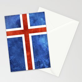 Icelandic Flag Stationery Cards