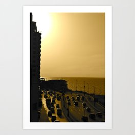 Corniche Art Print