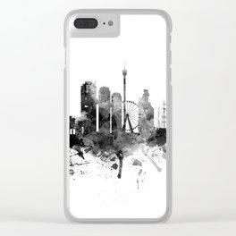 Gothenburg Sweden Skyline Clear iPhone Case