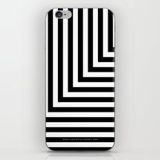 Black and White L Stripes // www.pencilmeinstationery.com iPhone & iPod Skin