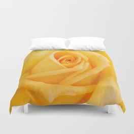 Yellow Rose Duvet Cover