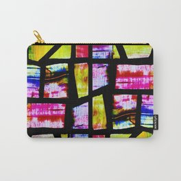 Colorful Mosaic Window Carry-All Pouch