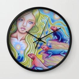 Agama Dram Wall Clock