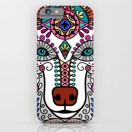 Beautiful Colorful Vintage Styled Bohemian Boho Chic Hippie Bear iPhone Case