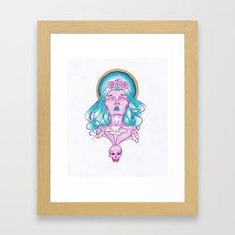 Longing for your presence Framed Art Print