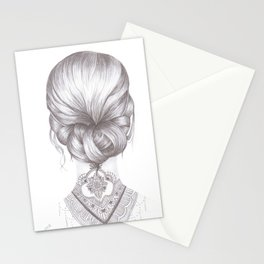 Neck Tattoo Stationery Cards