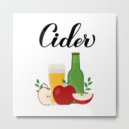 Apple cider Metal Print