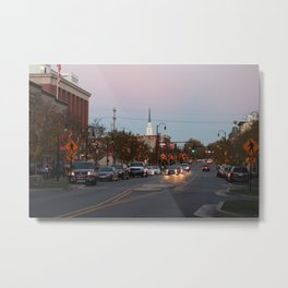 A City Christmas Metal Print