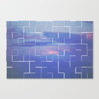 labyrinth Canvas Prints featuring Labyrinth by MJ Mor