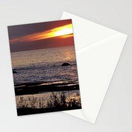 Surreal Seaside Sunset Stationery Cards