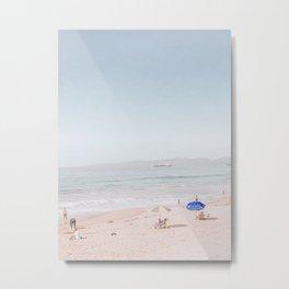 Beach Days Metal Print