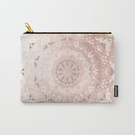 Dreamer Mandal Rose Gold Carry-All Pouch