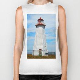 North Cape Lighthouse Biker Tank