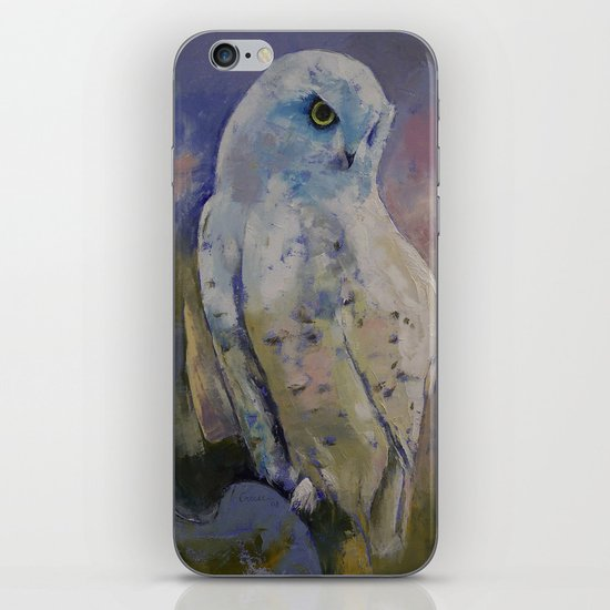 Snowy Owl iPhone & iPod Skin