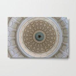 Austin Texas Capitol Dome Metal Print