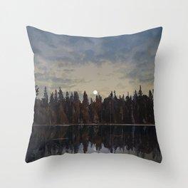 White Lake Provincial Park Throw Pillow