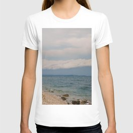 thunderstorm approaching at peroj beach croatia istria T-shirt
