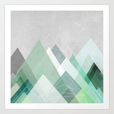 Graphic 107 Art Print