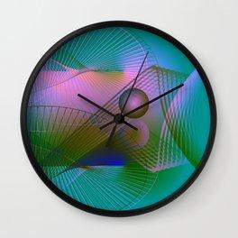 Lightpainting Wall Clock