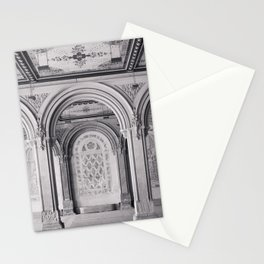Once at Bethesda Terrace - Central Park NYC Stationery Cards
