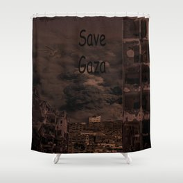 Gaza Shower Curtain