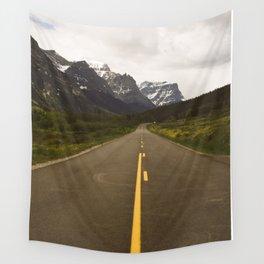 Glacier Roads Wall Tapestry
