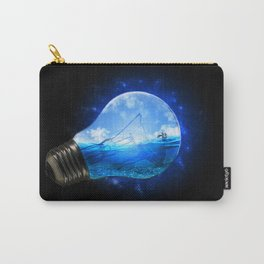 Small Paradise Carry-All Pouch