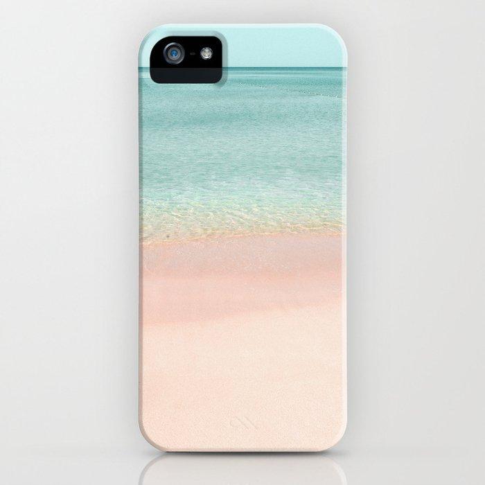 Pastel Beach iPhone Case