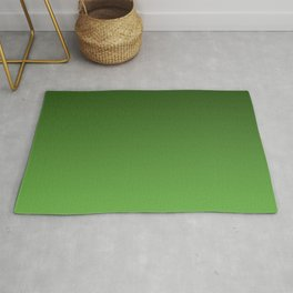 Green Ombré Gradient Rug