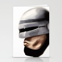 robocop Stationery Cards featuring Robocop. by Jamie Briggs