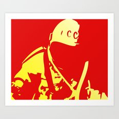 O Kosmonaut! My космонавт! Art Print