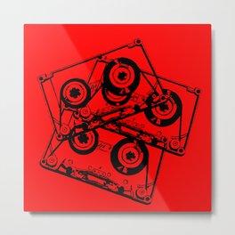 Lost Tapes Metal Print
