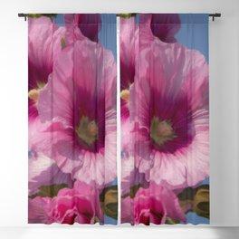 Purple Bells Blackout Curtain