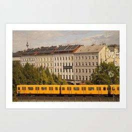 STREETART :: BERLIN :: GERMANY by Jay Hops Art Print