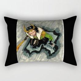 Loki, god of mischief Rectangular Pillow