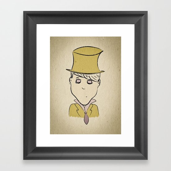 Hatter Framed Art Print