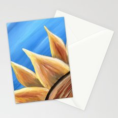 Fall Sunflower Stationery Cards