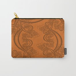 Autumn Maple Fractal Carry-All Pouch