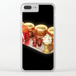 The Golden Age Of Fast Food Clear iPhone Case