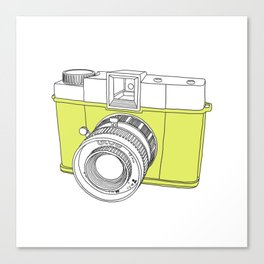 Diana F+ Glow - Plastic Analogue Camera Canvas Print