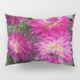 Pretty in Pink Dahlia 2 Pillow Sham