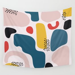 blob party Wall Tapestry
