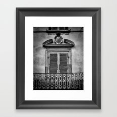 Juliet's Balcony Framed Art Print