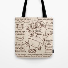 Minion Plan Tote Bag
