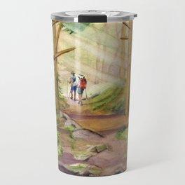 Walk Into The Light Travel Mug