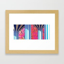 Colourful Kuwait Framed Art Print