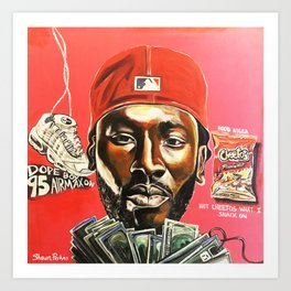 fre$h Art Print