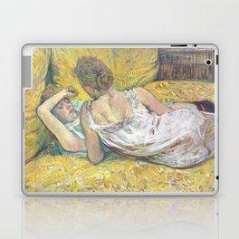 """Henri de Toulouse-Lautrec """"L'abandon (Les deux amies)"""" Laptop & iPad Skin"""