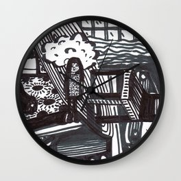 She wandered lowly as a cow. Wall Clock