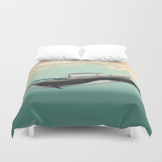 The De Ville of the sea Duvet Cover